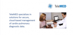 Learn more about TeleMED's Diagnostic data management capabilities